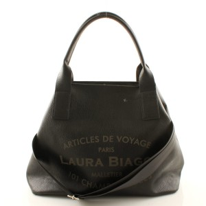 LAURA BIAGGI MUST HAVE CZARNA BIG SHOPPER BAG